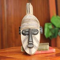 Malian wood mask,