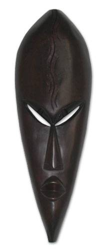 Hand Carved Mask from Africa