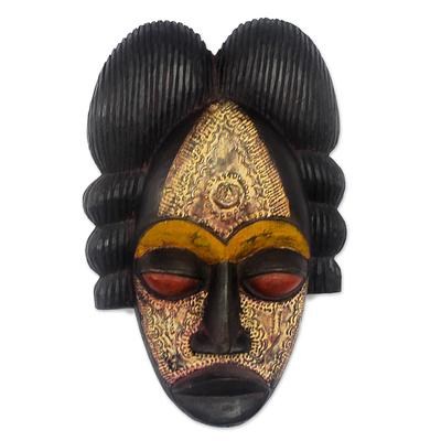 Akan wood mask
