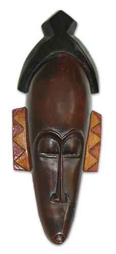 Ashanti wood mask