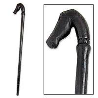 Wood walking stick,