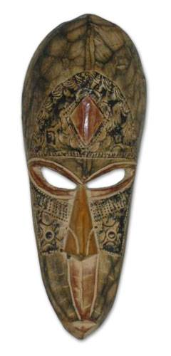 Hand Made African Wall Mask