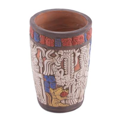 Hand Crafted Archaeology Museum Replica Ceramic Vase