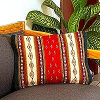 Wool cushion cover,