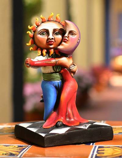 Ceramic sculpture, 'Universal Tango' - Ceramic sculpture