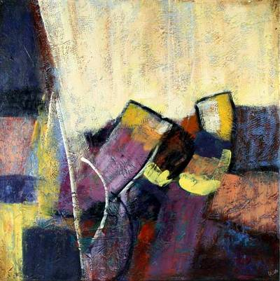Abstract Painting Traditional Mexican Toys