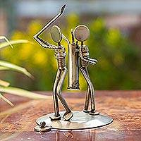 Featured review for Iron statuette, Rustic Golfer