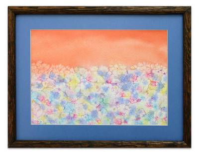 'Dance of Spring II' - Impressionist Landscape Painting