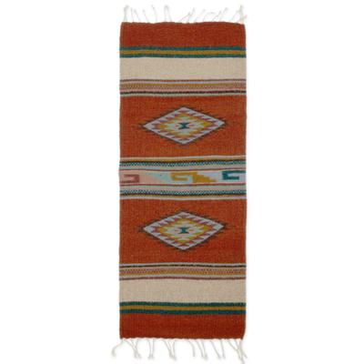 Hand Made Zapotec Area Rug (1.5x3)