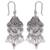 Sterling silver dangle earrings, 'Fiesta by Moonlight' - Sterling silver dangle earrings (image 2a) thumbail