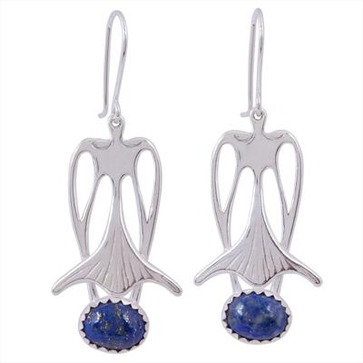 Sodalite drop earrings