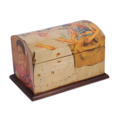 Frida Kaho Wood Decorative Box