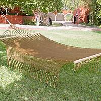 Hammock Maya Bronze single Mexico