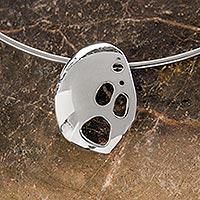 Sterling silver choker,