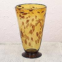 Art glass vase,