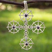 Amethyst pendant,