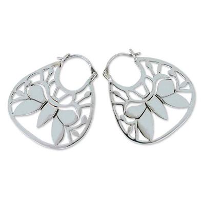 Sterling Silver Hoop Earrings from Mexico