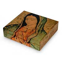 Decoupage CD box,
