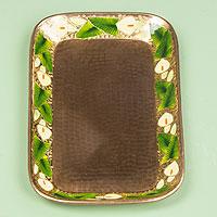 Copper tray,