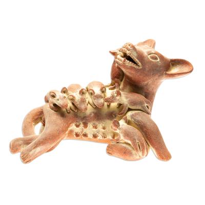 Prehispanic Style Handmade Sculpture Mexico