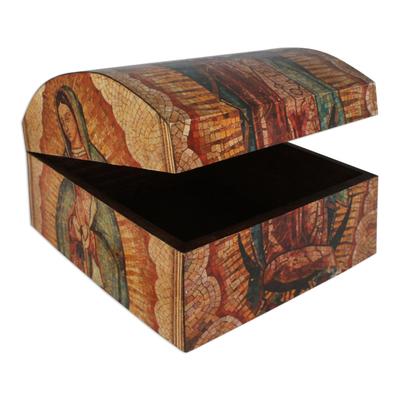 Decoupage decorative box