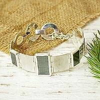 Hematite wristband bracelet,