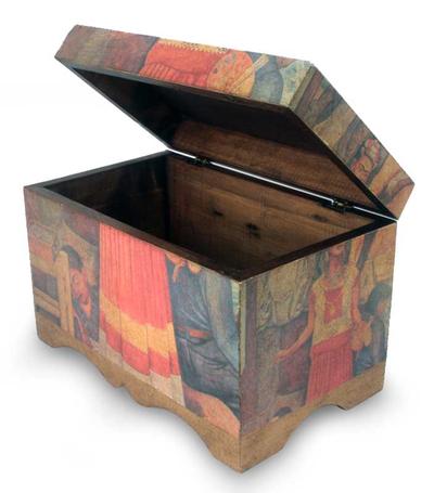 Frida Kahlo Decorative Decoupage Box