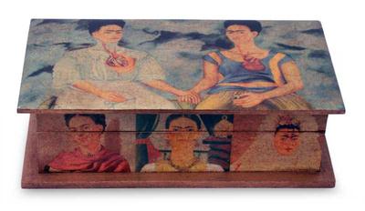Collectible Frida Wood Decorative Box