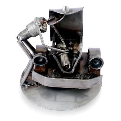 Recycled Auto Parts Sculpture Metal Art Mexico