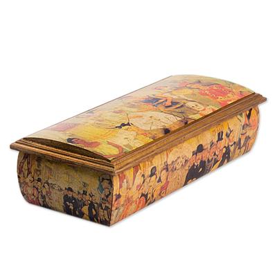 Decoupage Jewelry Box with Diego Rivera Art