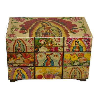 Catholic Wood Decorative Box