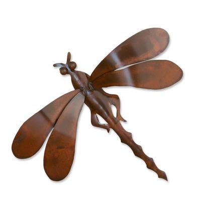 Good Luck Steel Bug Sculpture