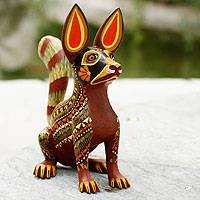 Featured review for Alebrije sculpture, Xoloescuincle