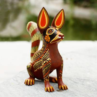 Alebrije sculpture, Xoloescuincle