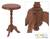 Parota wood accent table, 'Colonial Ranch' - Handmade Colonial Wood Accent Table Furniture (image 2) thumbail