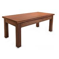 Parota wood coffee table, 'San Pedrito Mission' - Parota wood coffee table