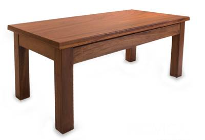 Parota wood coffee table