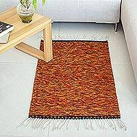 Zapotec wool rug, 'Fiesta Colors' (2x3.5) - Zapotec wool rug (2x3.5)
