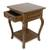 Parota wood end table, 'Colonial Mansion' - Parota Wood End Table from Mexico (image 2c) thumbail