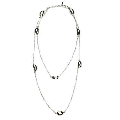 Modern Mexican Sterling Silver Necklace