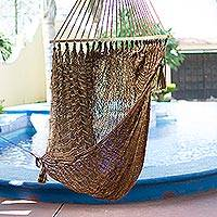 Featured review for Maya hammock swing, Bronze Sky