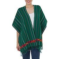 Cotton rebozo shawl,