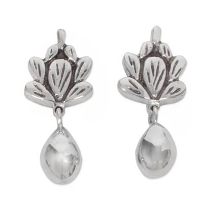 Sterling Silver Artisan Crafted Earrings from Mexico