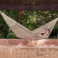 Cotton hammock Maya Mist double Mexico