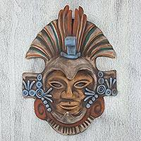Featured review for Ceramic mask, Aztec Eagle Warrior