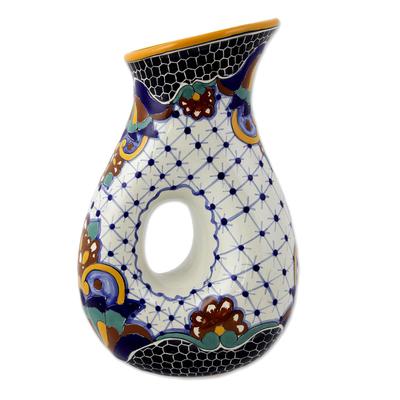 Artisan Crafted Ceramic 47-oz Drinkware Pitcher