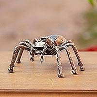 Featured review for Upcycled metal sculpture, Rustic Tarantula