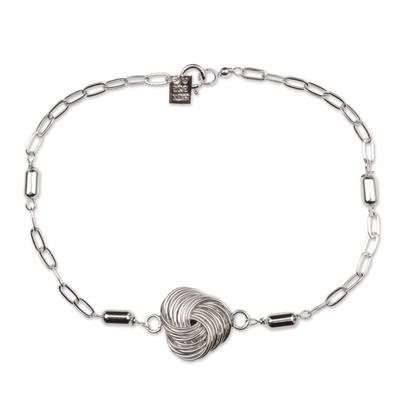 Sterling Silver Bracelet Modern Taxco Jewelry