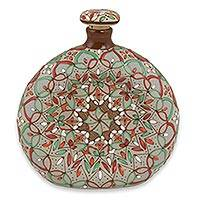 Ceramic decanter,