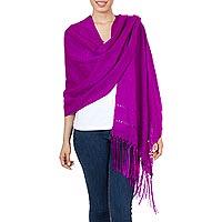Rebozo shawl,